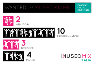 Seconda Call per Museomix Italia